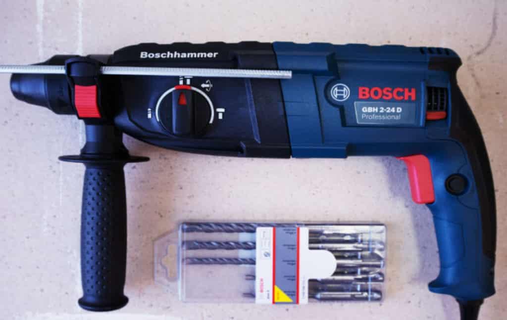 Ремонт перфоратора Bosch (Бош)