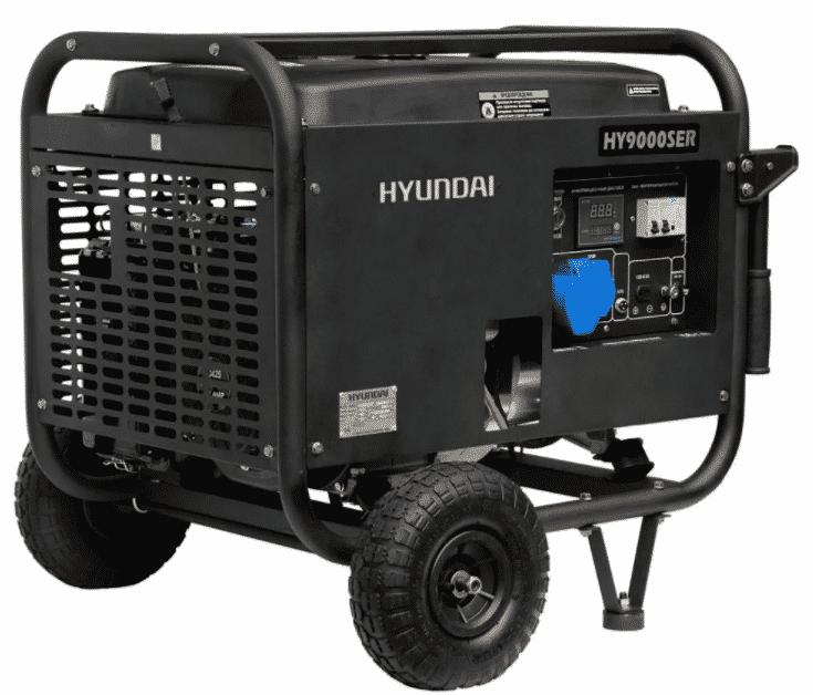 Ремонт бензогенератора Hyundai