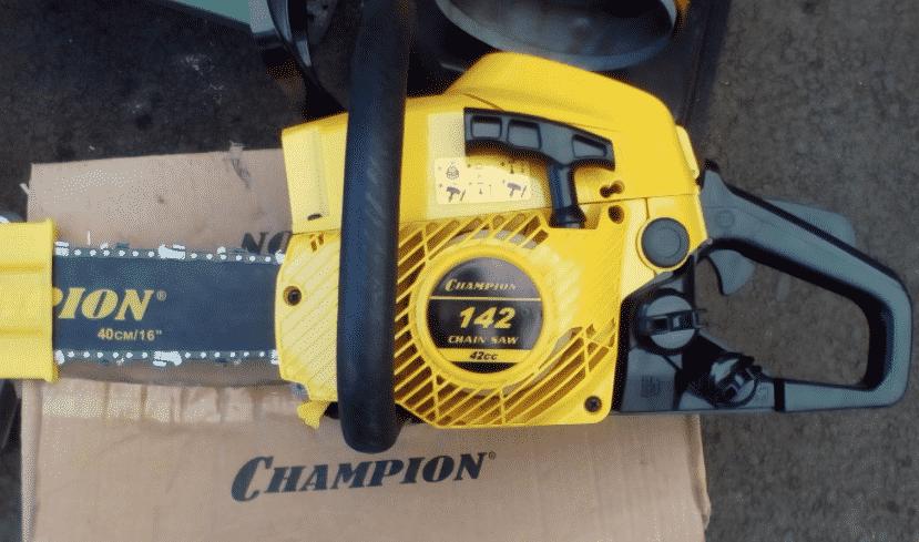 Ремонт электропилы Champion