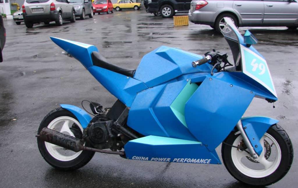 Ремонт китайских скутеров