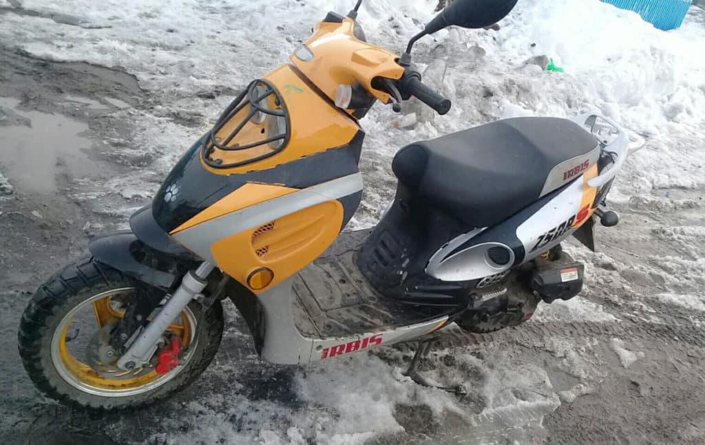 Ремонт скутеров Irbis (Ирбис)