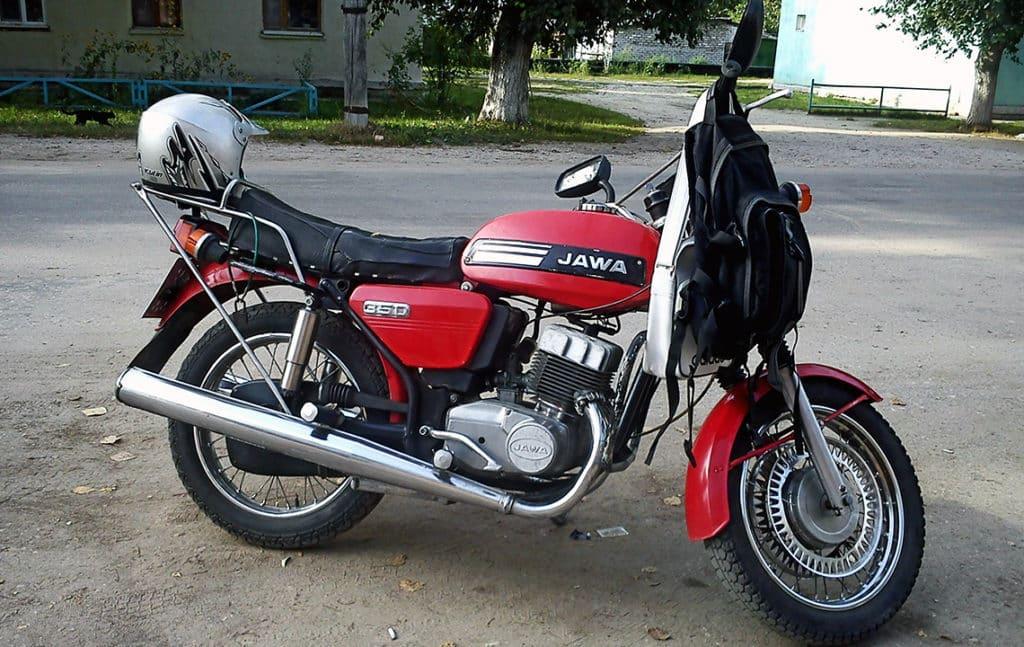 Ремонт мотоцикла Jawa (Ява)