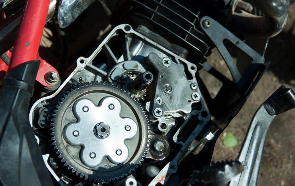 Ремонт сцепления мотоцикла