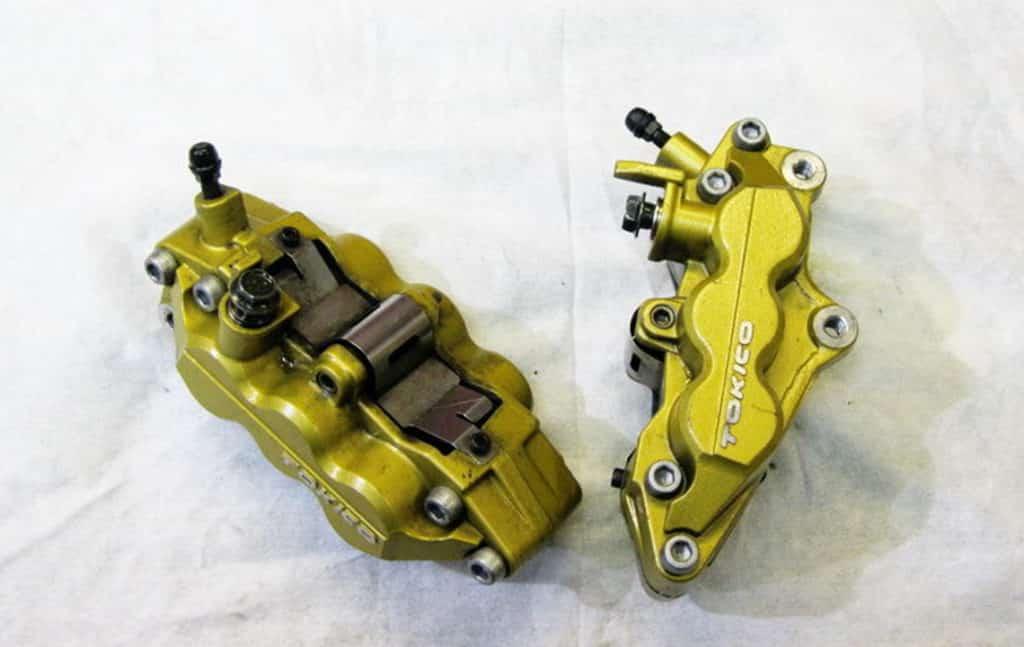 Ремонт суппорта мотоцикла