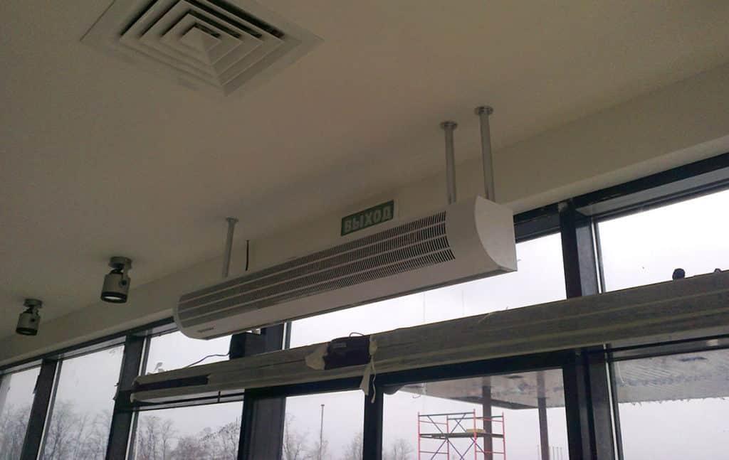 Ремонт тепловых завес