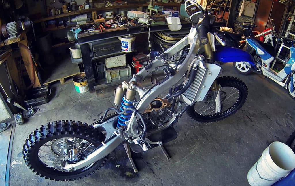 Ремонт японского мотоцикла