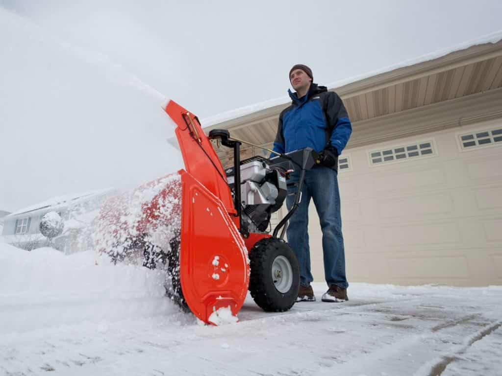 Ремонт снегоуборщика